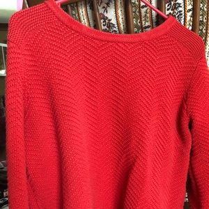 XL Old Navy Coral Sweater